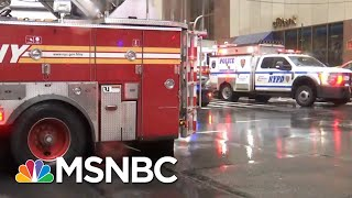 Helicopter Crash Lands On Roof Of New York City High-Rise | MSNBC