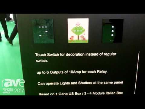 ISE 2017: CONTEC Intelligent Housing Presents 110V-230V Da Vinci Touch Switches