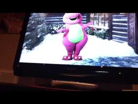 Barneys Night Before Christmas Main Menu YouTube