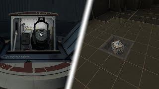 Portal 2 Core Transfer in Vanilla Minecraft