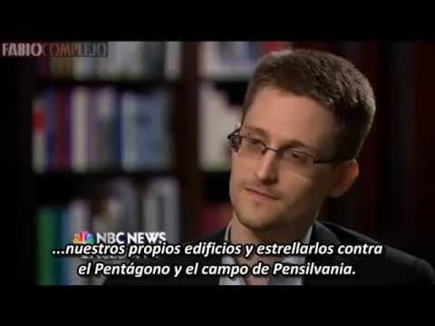 Segmento censurado de Edward Snowden sobre el 9/11 (subtitulado) Fabiocomplejo 2014