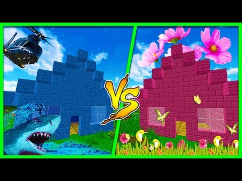 Minecraft - BOY HOUSE VS GIRL HOUSE! (Boys Vs Girls)