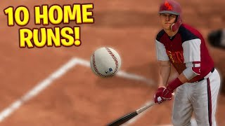 INSANE 10 HOMERUN GAME! MLB The Show 18   Diamond Dynasty