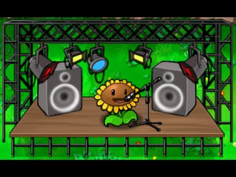 Plants vs Zombies - Main theme song - Theres a Zombie on your lawn Masterpiece