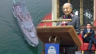 Dr M: There was no need to send warships during the Johor MB maritime visit