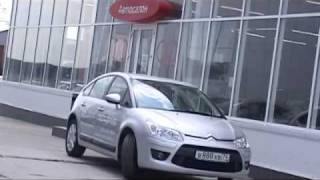 Citroen C4 new test drive
