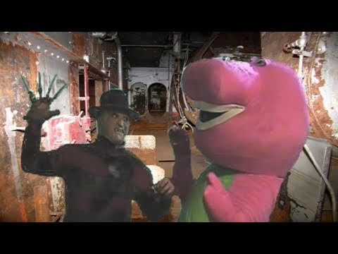 Freddy Krueger Vs Barney The Dinosaur