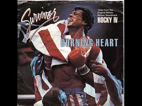 Rocky IV - Burning Heart (movie version) Music Videos