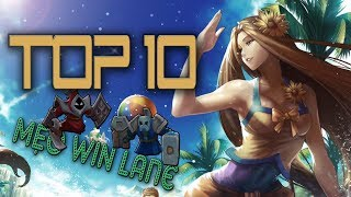 TOP 10 MẸO CỰC HAY giúp ĐÈ ĐƯỜNG ĐỐI THỦ trong LMHT | Cafe Liên Minh # 6