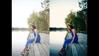 Photo Retouching | Color Correction | Color Balance | Outdoor Photography | Photoshop Tutorial