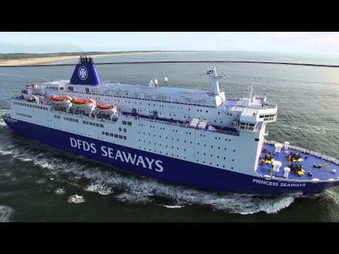 DFDS Princess Seaways Ferry IJmuiden Newcastle