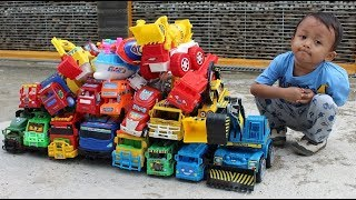 Mainan Mobil - Belajar Warna & Nama Kendaraan - Unboxing Mainan Anak Laki-laki