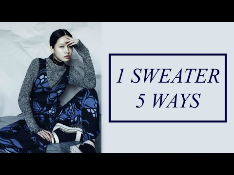 How to Style | 1 Sweater 5 Ways thumbnail
