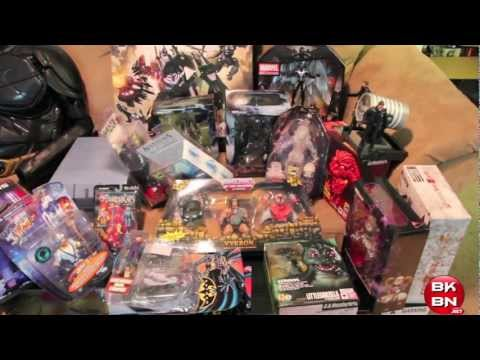 San Diego Comic-Con 2012 Exclusives Toy Haul of Sean Long