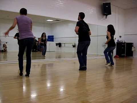 Brent Jennings & Tenia Raeni - Salsa Workshop March 7 2009