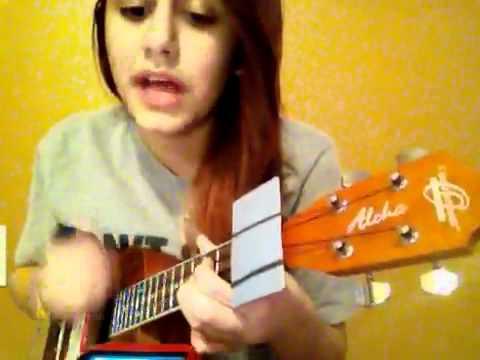 Say hey I love you ukulele