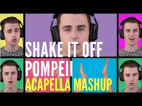 Shake It Off   Pompeii - Acapella Mashup video