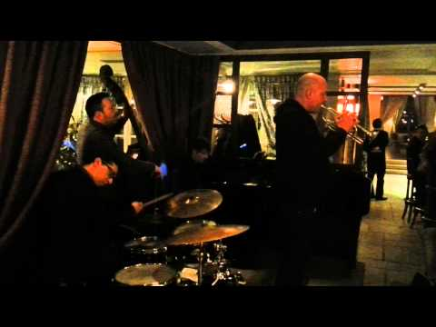 """""""Funk In Deep Freeze"""" (Hank Mobley) Christian Brenner Trio with Damon Brown"""