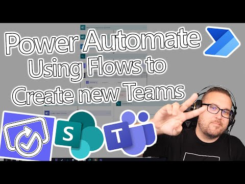 Power Automate Tutorial - Automate the creation of new Microsoft Teams.