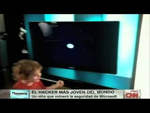 El 'hacker' más joven del mundo