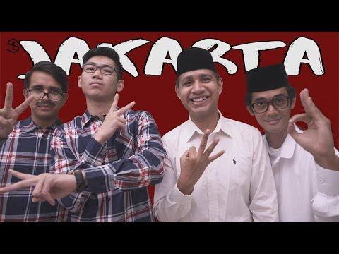 AHOK & DJAROT VS. ANIES & SANDIAGA | EPIC RAP BATTLE JAKARTA