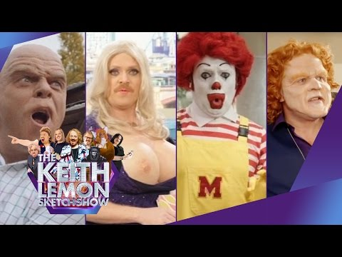 Keith Lemon goes Back To The Future : News 2015