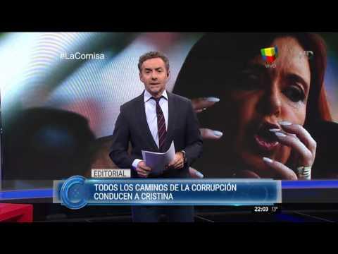 Luis Majul duro con la corrupción en el gobierno de Cristina