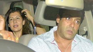Salman Khan and Sangeeta Bijlani spotted Together!! | New Bollywood Movies News 2015