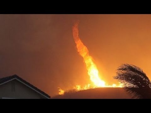 Scorched Earth : Firenado's Rage through drought stricken Southern California (May 16, 2014)
