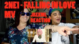 2NE1 FALLING IN LOVE MV JREKML Reaction