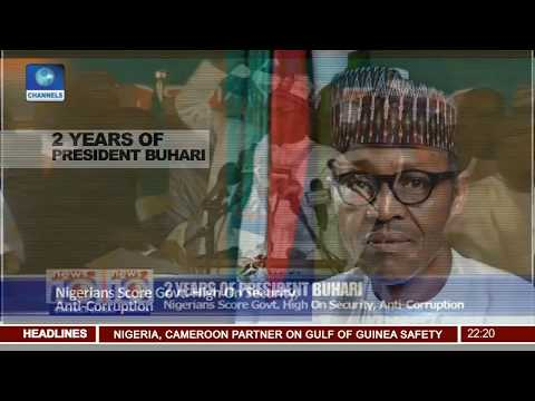 After 2 Years: Nigerians Score Buhari Govt. High On Security, Anti-Corruption