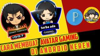 Membuat Avatar Gaming Android Terbaru | Tutorial Pixellab | How To make