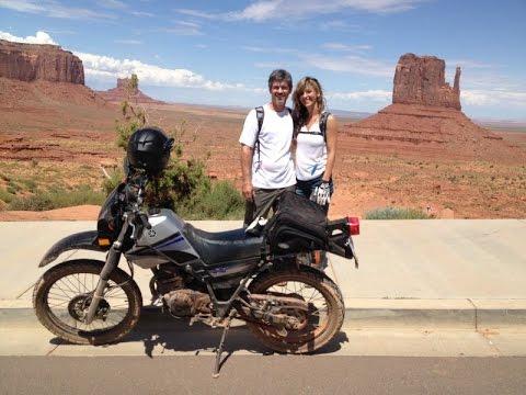 Enduro Motorcycle Monument Valley Renegades