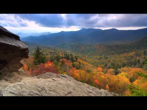Scenic Time Lapse: Fall Foliage & Incredible Mountain Views - Asheville, North Carolina