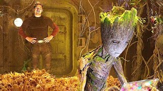 GUARDIANS OF THE GALAXY 2 Teen Groot NEW Deleted Scene ✩ Marvel Movie HD (2017)