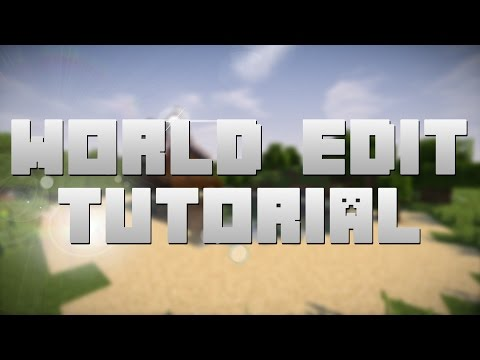 How I Use World Edit!   Minecraft Tutorial (1.10.2 - But works for any version!)