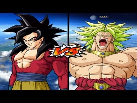 [hard] Dbz Bt 3 Goku Gt Ss 4 Vs Broly Legendary Super Saiyan video