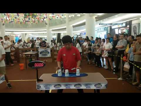 WSSA Indonesia Sport Stacking Championships 2016: My Prelims and Finals