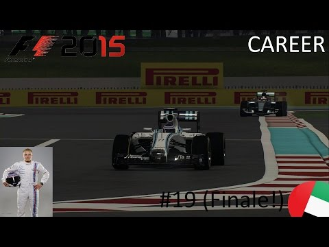 F1 2015 Bottas Career Mode #19 Abu Dhabi (Finale!!)