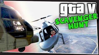 GTA 5 Online - Helicopter Battle (Scavenger Hunt #2)