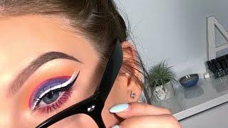 """Grape Soda"" Colorful Makeup Tutorial   Alison Henry"