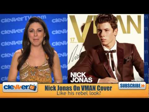 Nick Jonas On VMAN Magazine Cover