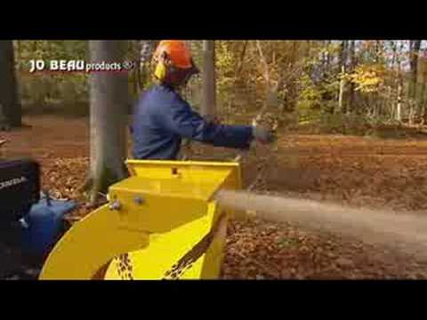 Jo Beau T300 pro-chipper / woodchipper