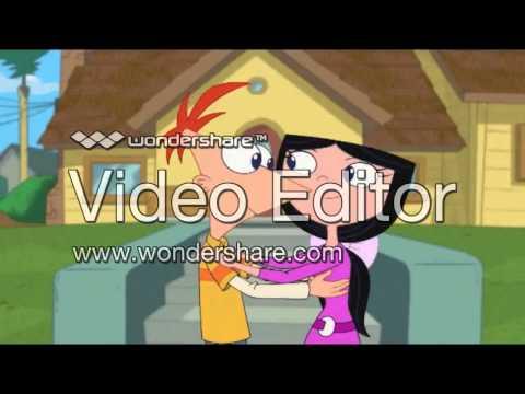 Phineas y Ferb- beso de isabella y phineas sub. Español