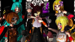MMD FNAF What Does The Fox Say?