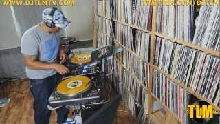 DJ TLM on the cut part 1 (freestyle scratching practice)