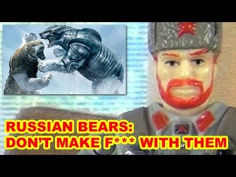 The Deadly Russian Tank Bear - Action Figure Therapy