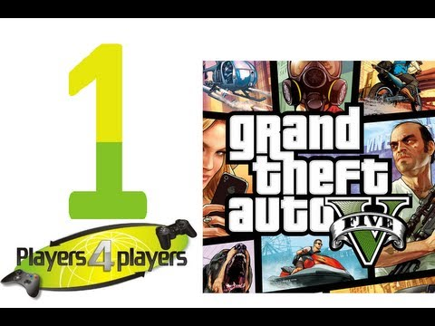 Let's Play GTA V PS3 Pierwsza misja (PL) PART 1 [HD 1080p] by P4p
