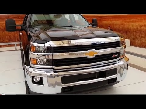 2015 Chevy Silverado HD Reveal & Walkaround Review