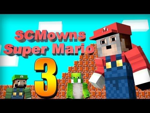 Minecraft - Super Mario Bros Mini-game Part 3! - DONKEY KONG!?